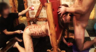 【蝋燭責め動画】「熱い……助けて……」終わらない凌辱劇を堪能せよ